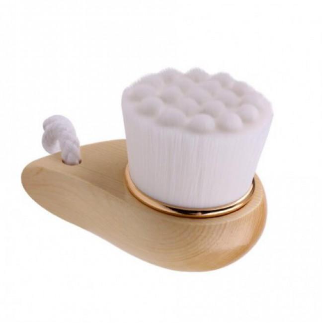 Bamboo Charcoal Soft Mild Fiber Facial Wash Brush Face Deep Cleansing Wash