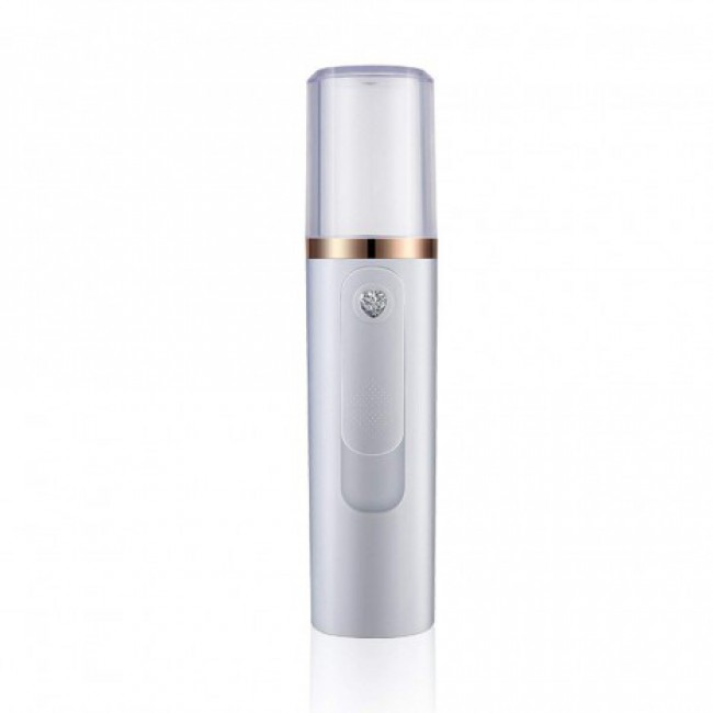 Portable Facial Nano Mist Sprayer Skin Hydrating Atomization Steamer With Power Bank