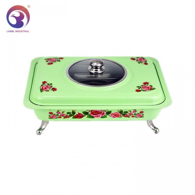 Cheaper Stainless Steel Buffet Chafing Dish Set Food Warmers For Restaurant Hotel
