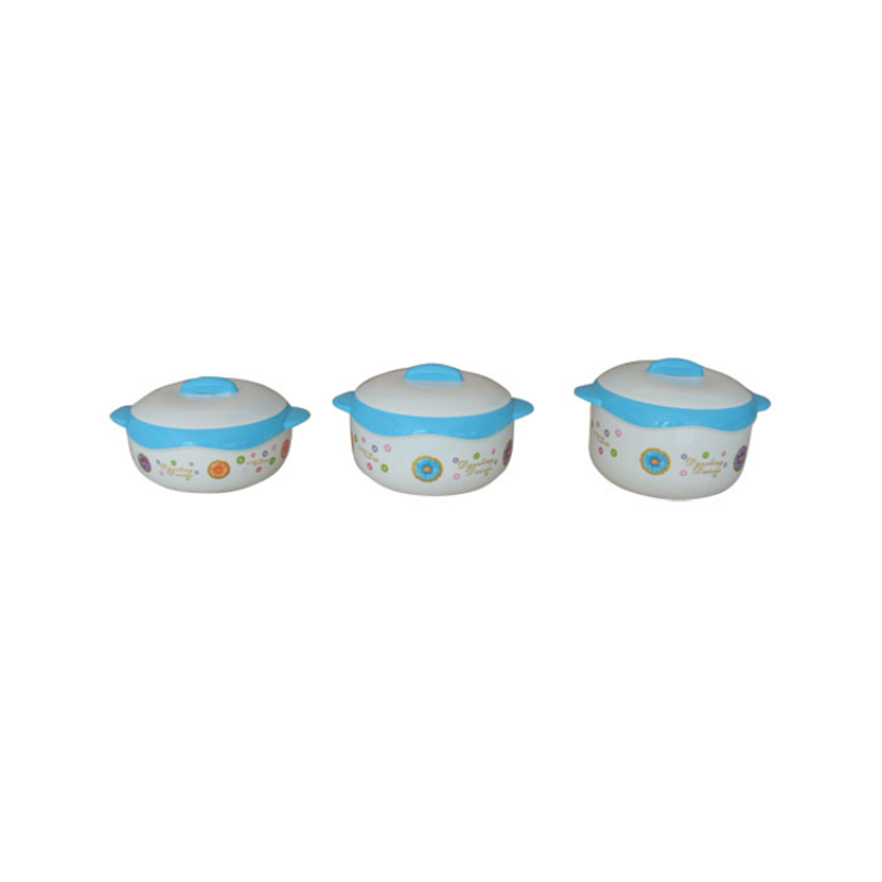 Customized 3Pcs/Set Insulation Stainless Steel Lunch Bowl Food Container