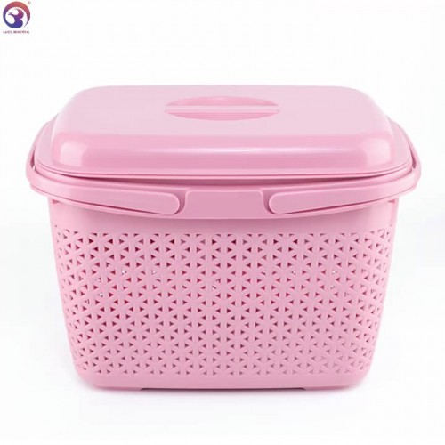 New Design Plastic PP Storage Basket With Isolation Layer