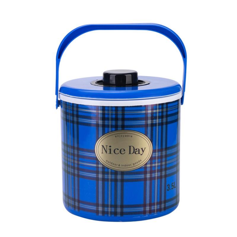Top Sale Plastic 3 Pcs Set Hot Pot 3011 Food Warmer Container