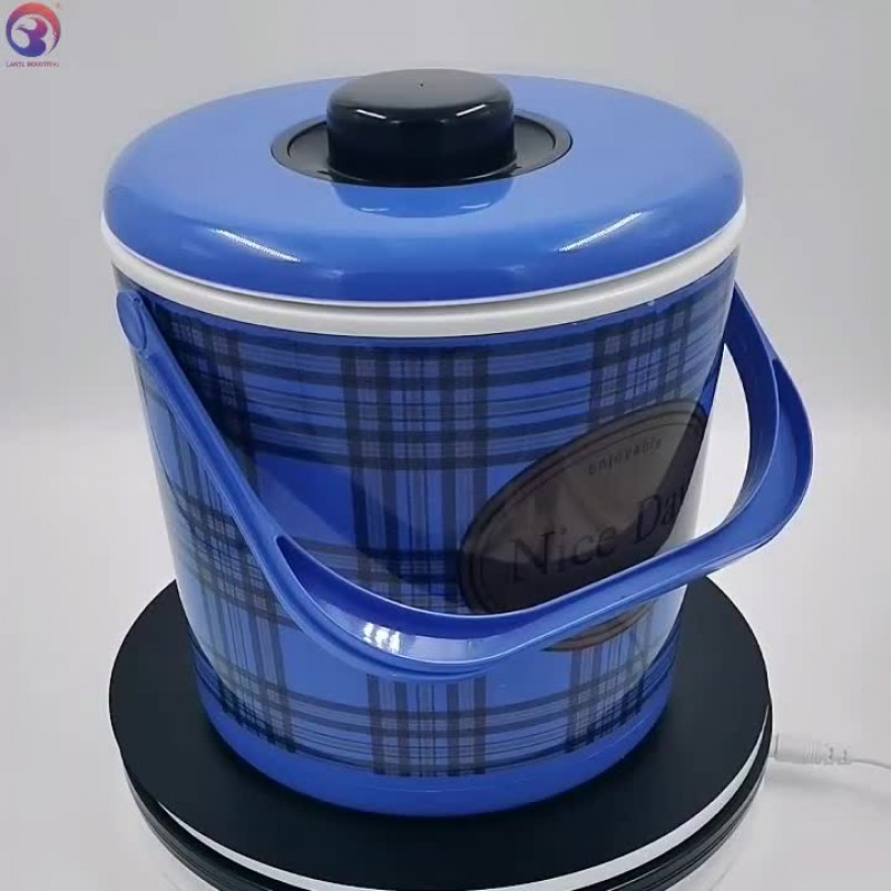 Top Sale Plastic 3 Pcs Set Hot Pot 3011 Food Warmer Container
