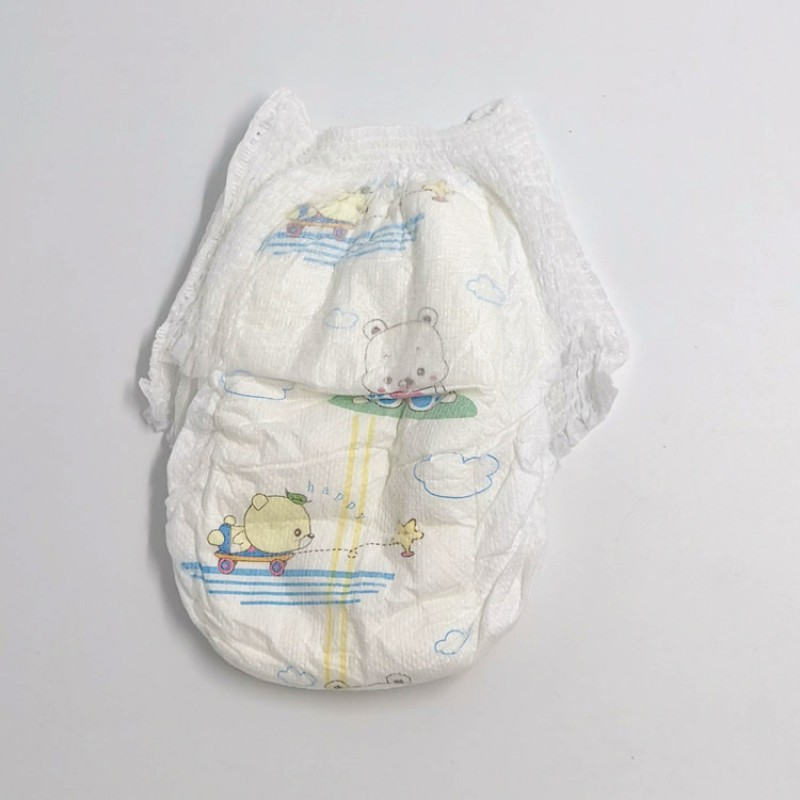 Wholesale Soft Breathable Disposable B Grade Baby Diaper Pants