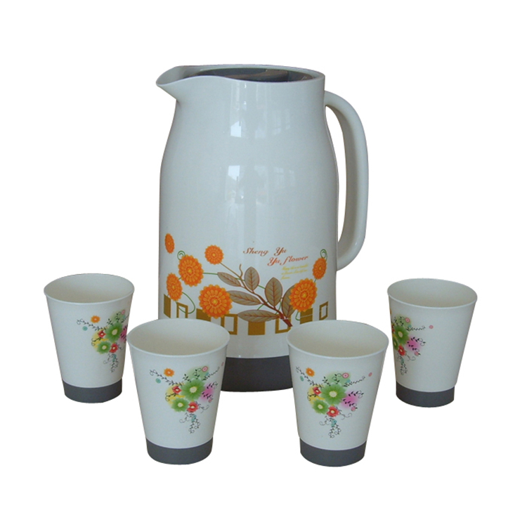 Customized15LKettlePlasticWaterJugsetWithCups-LBPJ9004