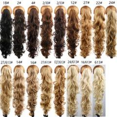 2019 Wholesale New Popular Corn Hot Flush Pony Horses Tail Realistic Human Hair Wig