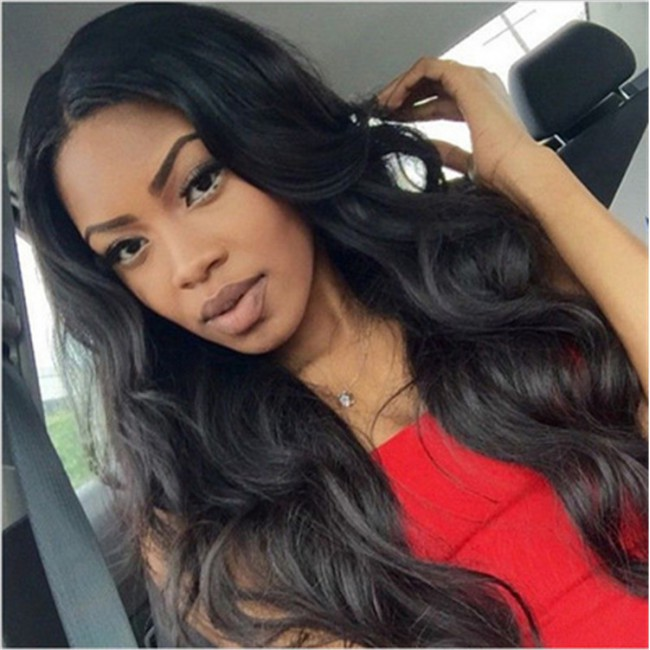2019 Wholesale Price New Quality Human Hair Wig Blonde Long,Middle Part Lace Front Wigs With Body Wave Hair Wig