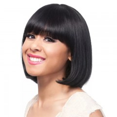 Fashion Straight Black Synthetic Wig New Arrival Human Hair Wig
