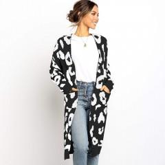 Elegant Europe Trending Style Women Long Winter Coats