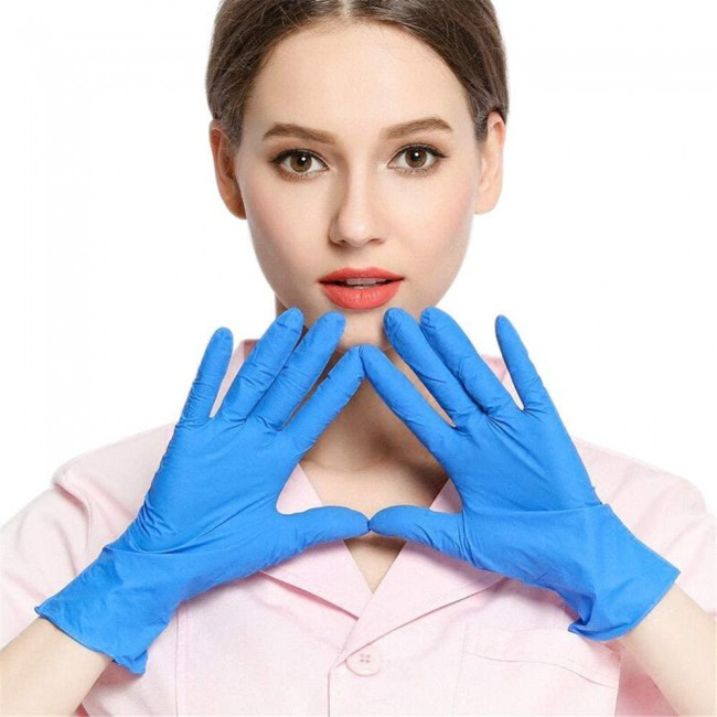 100pcs Disposable Gloves Cleaning Rubber Gloves Multifunctional Home Tools