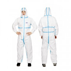 Coverall Personal Non Woven Protective Gear Suit Clothes Supplies