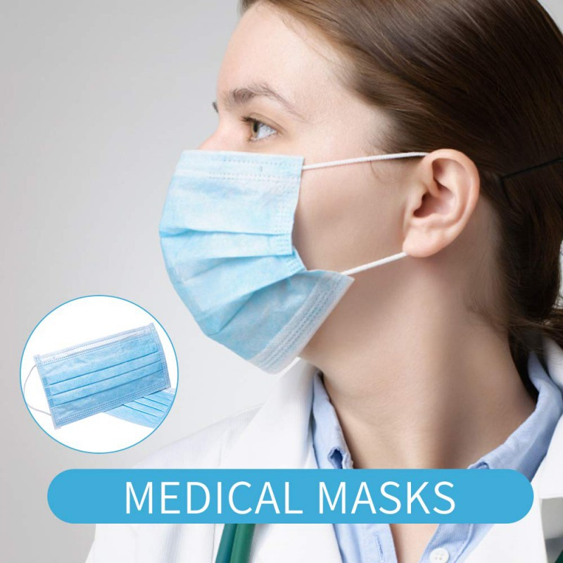 Disposable Face Masks in Stock Doctor Wholesale Party Fashion